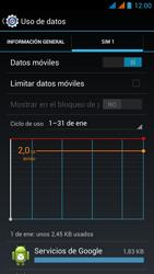 Wiko Stairway - Internet - Ver uso de datos - Paso 9