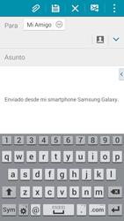 Samsung G900F Galaxy S5 - E-mail - Escribir y enviar un correo electrónico - Paso 8