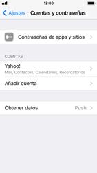 Apple iPhone SE - iOS 11 - E-mail - Configurar Yahoo! - Paso 9