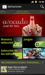 Samsung I8160 Galaxy Ace II - Aplicaciones - Descargar aplicaciones - Paso 4