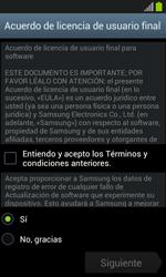 Samsung I8260 Galaxy Core - Primeros pasos - Activar el equipo - Paso 7