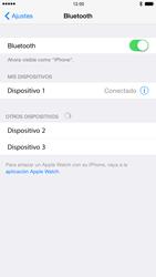 Apple iPhone 6 iOS 8 - Connection - Conectar dispositivos a través de Bluetooth - Paso 7