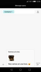 Huawei P8 - MMS - Escribir y enviar un mensaje multimedia - Paso 18