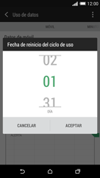 HTC One M8 - Internet - Ver uso de datos - Paso 7