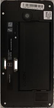 Nokia Lumia 635 - Primeros pasos - Quitar y colocar la batería - Paso 7