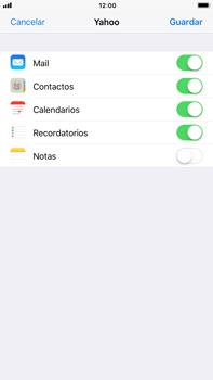 Apple iPhone 7 Plus iOS 11 - E-mail - Configurar Yahoo! - Paso 8