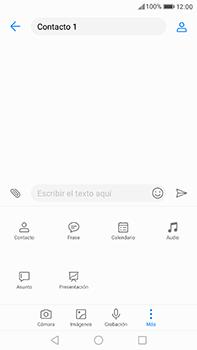 Huawei P10 Plus - MMS - Escribir y enviar un mensaje multimedia - Paso 10