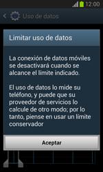 Samsung I8260 Galaxy Core - Internet - Ver uso de datos - Paso 9