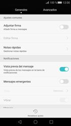 Huawei P8 - MMS - Configurar el equipo para mensajes de texto - Paso 5