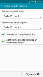 Samsung A500FU Galaxy A5 - E-mail - Configurar correo electrónico - Paso 18
