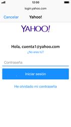 Apple iPhone SE - iOS 11 - E-mail - Configurar Yahoo! - Paso 7