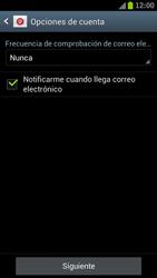 Samsung I9300 Galaxy S III - E-mail - Configurar correo electrónico - Paso 14