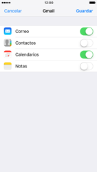 Apple iPhone 6 iOS 10 - E-mail - Configurar Gmail - Paso 8