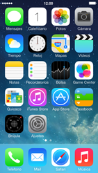 Apple iPhone 5s - Internet - Configurar Internet - Paso 1
