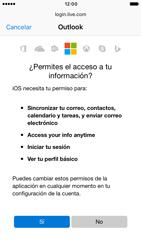 Apple iPhone 6 iOS 10 - E-mail - Configurar Outlook.com - Paso 7