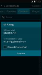 Samsung G900F Galaxy S5 - MMS - Escribir y enviar un mensaje multimedia - Paso 7