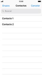 Apple iPhone SE - iOS 11 - MMS - Escribir y enviar un mensaje multimedia - Paso 5