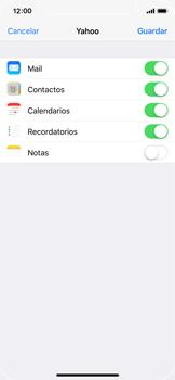 Apple iPhone X - E-mail - Configurar Yahoo! - Paso 8