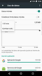 BlackBerry DTEK 50 - Internet - Ver uso de datos - Paso 6
