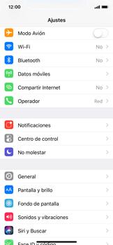 Apple iPhone X - Internet - Ver uso de datos - Paso 3