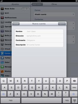 Apple iPad 2 - E-mail - Configurar correo electrónico - Paso 7