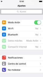 Apple iPhone SE - Red - Activar o desactivar el modo avión - Paso 4