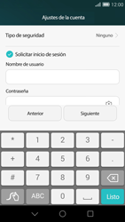 Huawei Ascend G7 - E-mail - Configurar correo electrónico - Paso 13