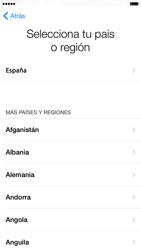 Apple iPhone 6 iOS 8 - Primeros pasos - Activar el equipo - Paso 7