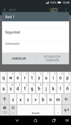 HTC One A9 - WiFi - Conectarse a una red WiFi - Paso 7