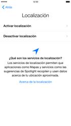 Apple iPhone 6 Plus iOS 8 - Primeros pasos - Activar el equipo - Paso 10