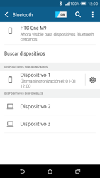 HTC One M9 - Connection - Conectar dispositivos a través de Bluetooth - Paso 8