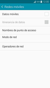 Samsung N910F Galaxy Note 4 - Internet - Activar o desactivar la conexión de datos - Paso 8