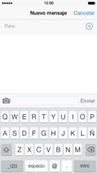 Apple iPhone 5s - MMS - Escribir y enviar un mensaje multimedia - Paso 4