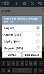 Samsung S7580 Galaxy Trend Plus - E-mail - Escribir y enviar un correo electrónico - Paso 17