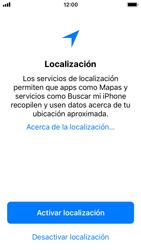 Apple iPhone SE - iOS 11 - Primeros pasos - Activar el equipo - Paso 21