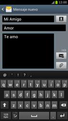 Samsung I9300 Galaxy S III - MMS - Escribir y enviar un mensaje multimedia - Paso 12