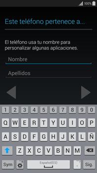 Samsung N910F Galaxy Note 4 - Primeros pasos - Activar el equipo - Paso 11