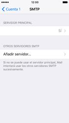 Apple iPhone SE - iOS 10 - E-mail - Configurar correo electrónico - Paso 21