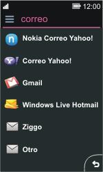 Nokia Asha 311 - E-mail - Configurar correo electrónico - Paso 6