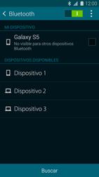 Samsung G900F Galaxy S5 - Connection - Conectar dispositivos a través de Bluetooth - Paso 6
