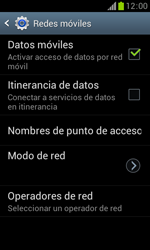 Samsung S7560 Galaxy Trend - Internet - Configurar Internet - Paso 7