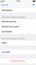 Apple iPhone 5s - E-mail - Configurar correo electrónico - Paso 24