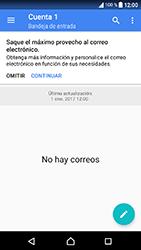 Sony Xperia XA1 - E-mail - Configurar correo electrónico - Paso 24