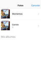 Apple iPhone 5s iOS 10 - MMS - Escribir y enviar un mensaje multimedia - Paso 12