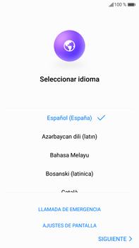 Huawei Mate 9 - Primeros pasos - Activar el equipo - Paso 5