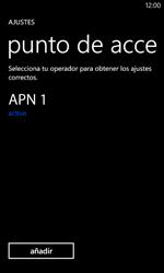 Nokia Lumia 520 - MMS - Configurar el equipo para mensajes multimedia - Paso 7