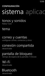Nokia Lumia 520 - WiFi - Conectarse a una red WiFi - Paso 4