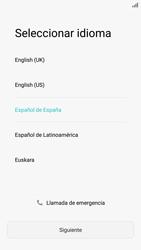 Huawei P9 Lite - Primeros pasos - Activar el equipo - Paso 4