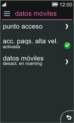 Nokia Asha 311 - Internet - Activar o desactivar la conexión de datos - Paso 5