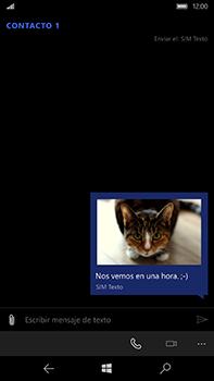 Microsoft Lumia 950 XL - MMS - Escribir y enviar un mensaje multimedia - Paso 15